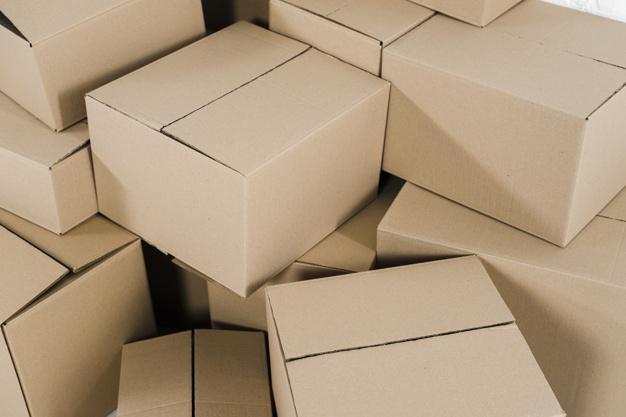 papkasser til sarte ting